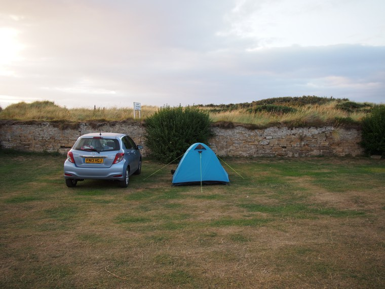 1. Scotland – Durness to Hopeman-tent