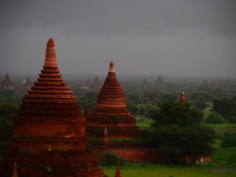 1.Mynamar-Bagan-Temples
