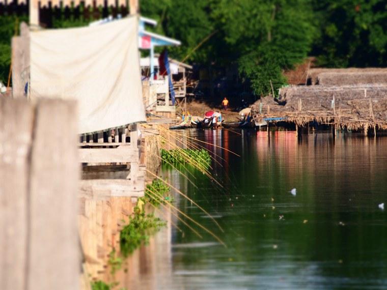 49.Myanmar_Mandalay_U Bein's Bridge